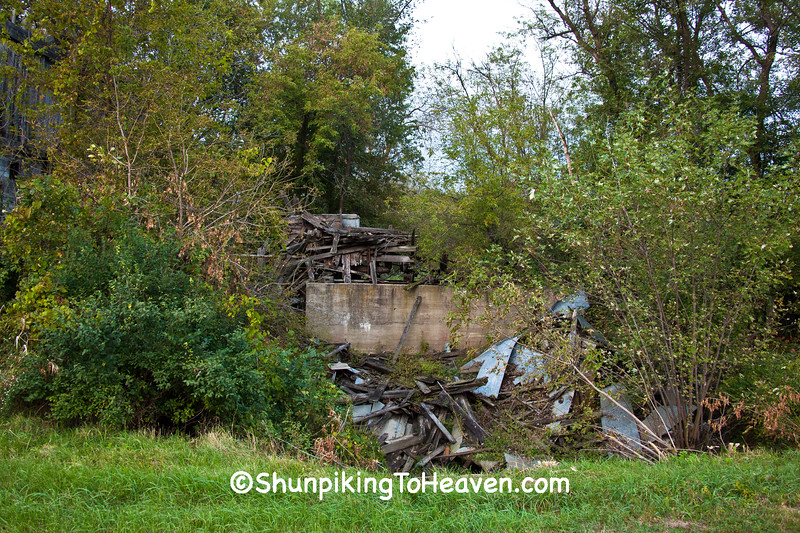 Bowen's Mill Ruins, Richland County, Wisconsin