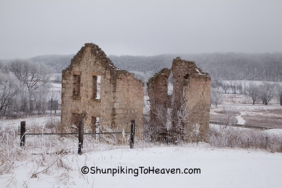 Matz Farmhouse Ruins, Halfway Prairie, Dane County, Wisconsin