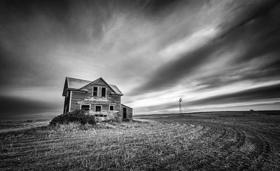 Abandoned-Black and White