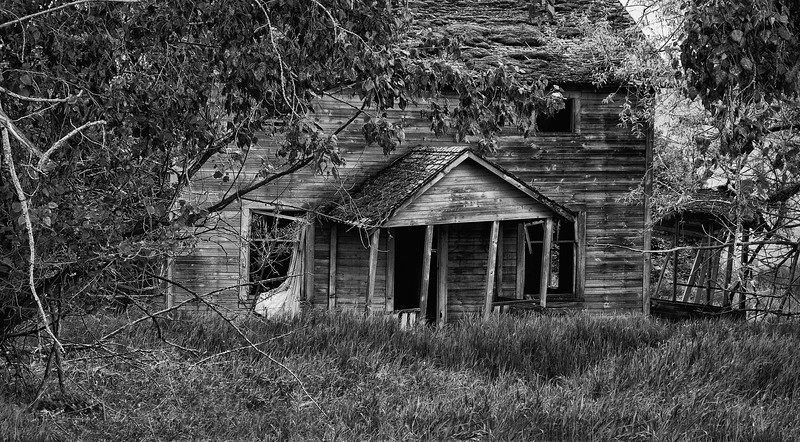 abandoned house in the Palouse