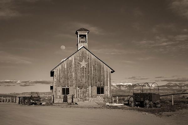 Church movie set | Moab, Utah