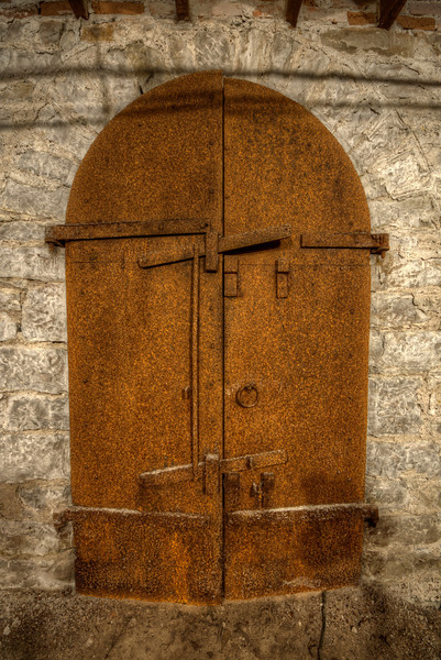 The cellar door that leads to the old cellar where Henry McPike and others often show themselves in some way.