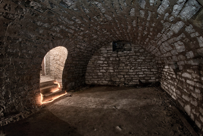 The cellar where the house is most active.  Henry McPike and others often communicate by lightly touching people or extreme temperature changes.  This is a very active room.