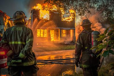 Detroit On Fire