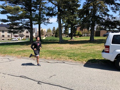 Mitch Green '11 clocks miles around campus on his daily runs