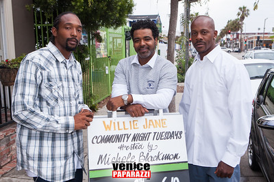 Westside Wolfpack Fundraiser at Willie Jane. Hosted by Michele Blackmon and Shakari Gault. Photo by VenicePaparazzi.com