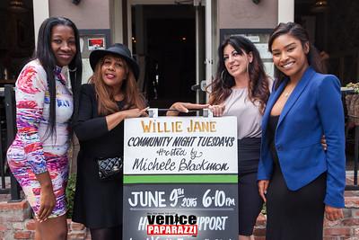Westside Wolfpack Fundraiser at Willie Jane. Hosted by Michele Blackmon and Shakari Gault. Photo by VenicePaparazzi.com