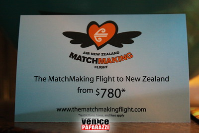 From new Zealand with Love. Hosted by The Lek and Air New Zealand   www.thelek.com     www.thematchmakingflight.com