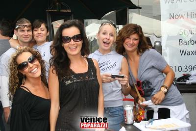 1   Annual party at Trim Hair Salon  1424 Abbot Kinney Blvd, Venice 310 396 3330