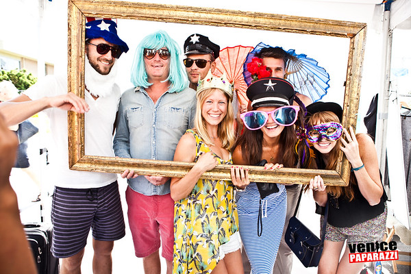 10.07.12 Hotel Erwin photo booth at Abbot Kinney Festival