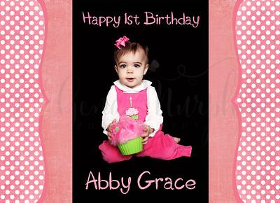 Abby Grace 1st Birthday