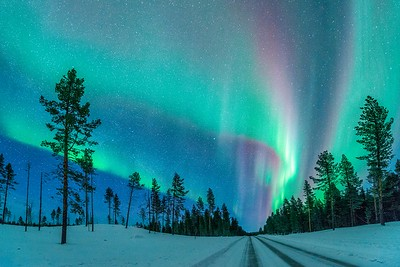This Road leads to the Aurora