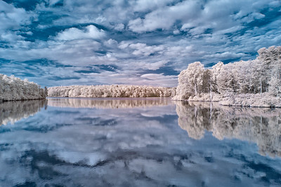 Infrared Price Lake Reflecctions