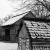 Shed & barn at Lincoln Log Cabin State Park near Charleston, IL