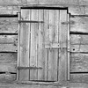 Doorway at barn; Lincoln Log Cabin State Park near Charleston, IL