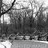 Split rail fence & lane at Lincoln Log Cabin State Park near Charleston, IL