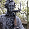 Lincoln the Surveyor at New Salem, IL