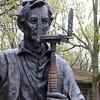 Lincoln the Surveyor at New Salem, IL