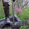 Lincoln the Railsplitter at New Salem, IL