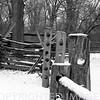 Barnyard livestock fence at Lincoln's New Salem