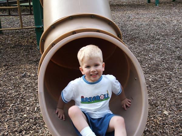Grant on slide