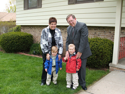 Grandparents with Nick and Grant