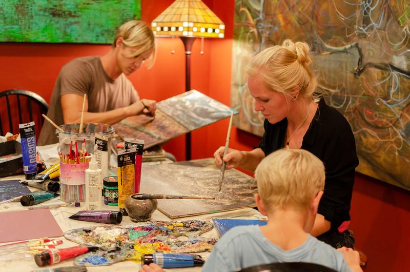 artistic family