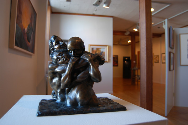 close up of art sculpture
