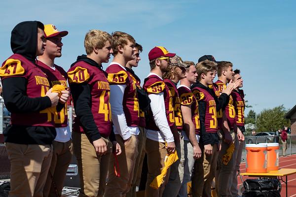 NSU football players
