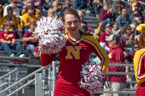 NSU football cheerleader