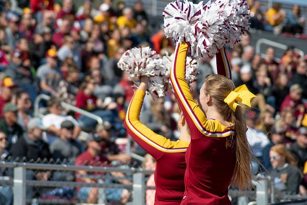NSU football cheerleaders