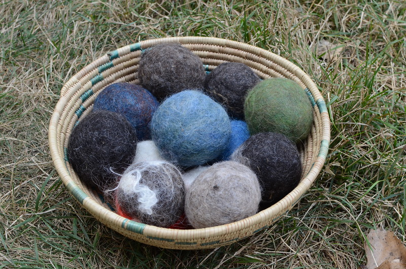 bowl of wool