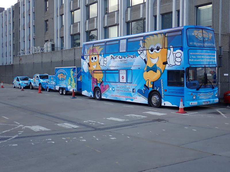 Blubell Bus in Aberdeen!
