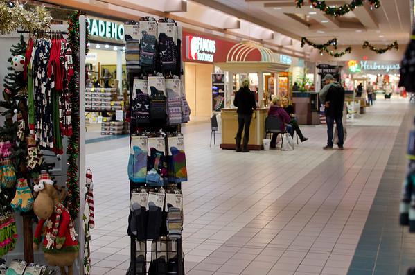Aberdeen Mall Christmas view