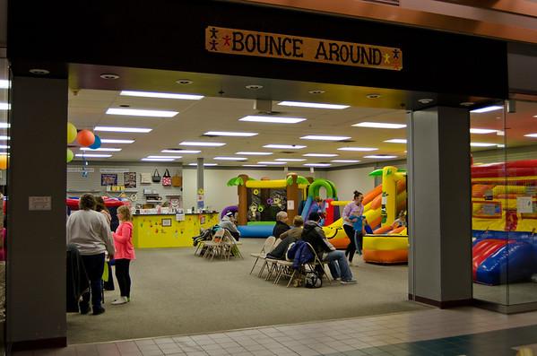 Bounce Around at Aberdeen Mall