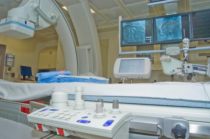view of x-ray machine