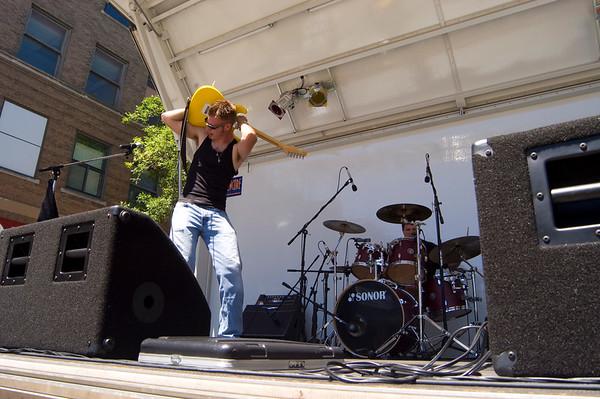 guitarist performing