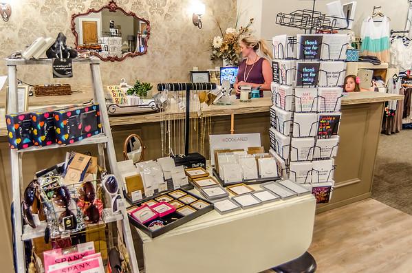 inside of Karisma Boutique