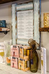 Karisma Boutique wine menu