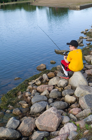 Aberdeen YMCA Youth Fishing