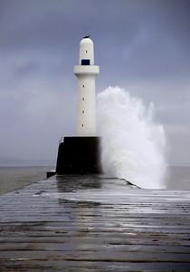 Aberdeen South Breakwater Lighthouse