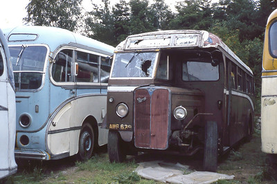 North East of Scotland Bus Preservation Society AWG639 Near Culter Aug 82