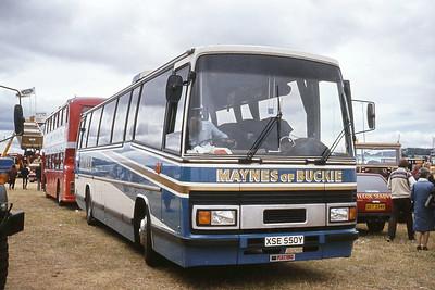 Mayne Buckie XSE550Y Black Isle Showground Aug 83