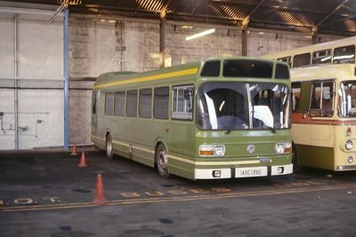 H_M Prison Peterhead ASC139S GRT depot Abdn Jan 84