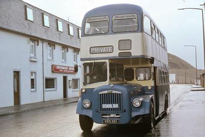 Reid Rhynie VRS321 Union Rd Macduff Nov 81