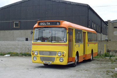 Delta Abdn SRS51K Yard Powis Place Abdn 1 May 84