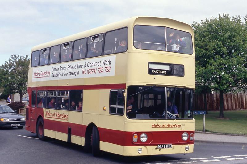 Mair_GRT Dyce ORS212R Braehead Way Aberdeen May 94