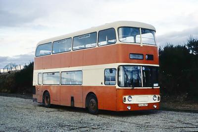 Smith Aberdeen KSU861P Dyce Railway Station Nov 84