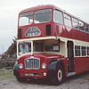 North East of Scotland Bus Preservation Society SVX278D Near Culter Aug 82