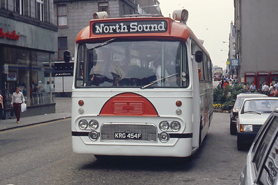 North Sound Radio KRG454F St Nicholas St Abdn 2 Aug 82